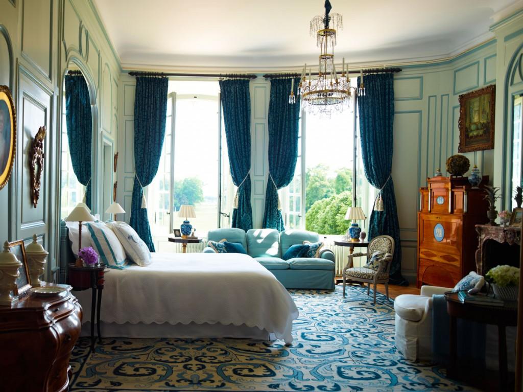 Timothy Corrigan, Bedroom, Château du Grand-Lucé | Design Commerce Agency