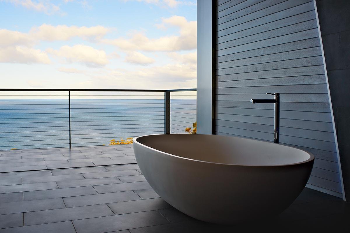 Apaiser Haven Bath at the Lair Tasmania