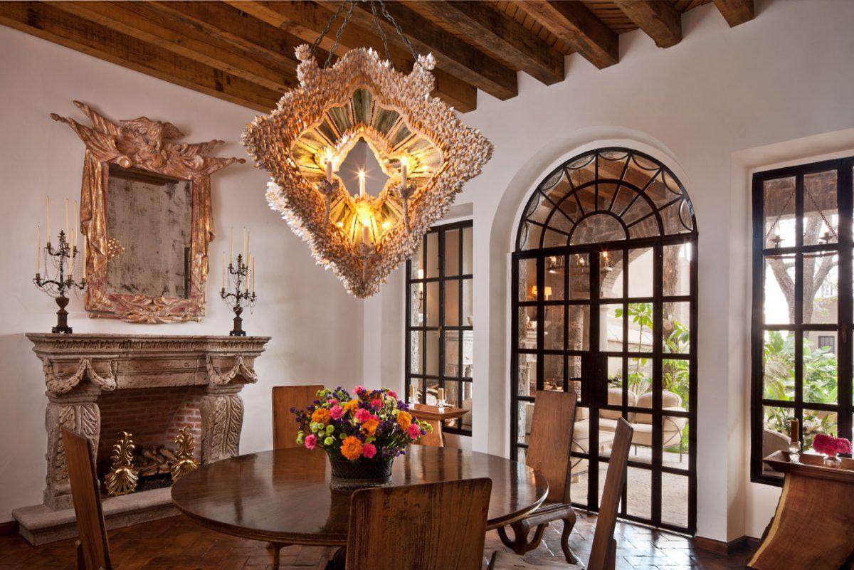 Fisher Weisman Dining Room San Miguel De Allende Mexico